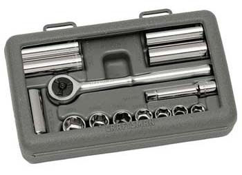 Craftsman 14 pc. Socket Wrench Set, 6 pt. Metric Standard and Deep