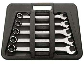 Craftsman Professional 5 pc. Wrench Set, 12pt. Huge Combination