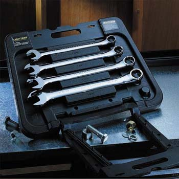 Craftsman Professional 5 pc. Wrench Set with Case, Huge Combination