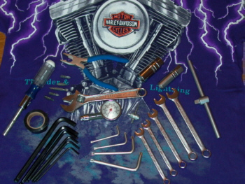 25 pc. American V Twin Travelling Tool Kit - Everyday